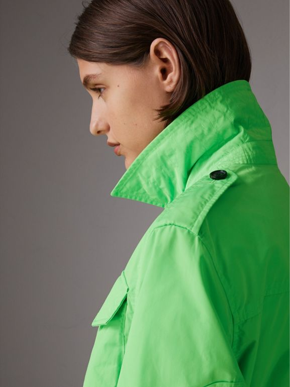 Taffeta Field Jacket in Neon Green | Burberry - cell image 1