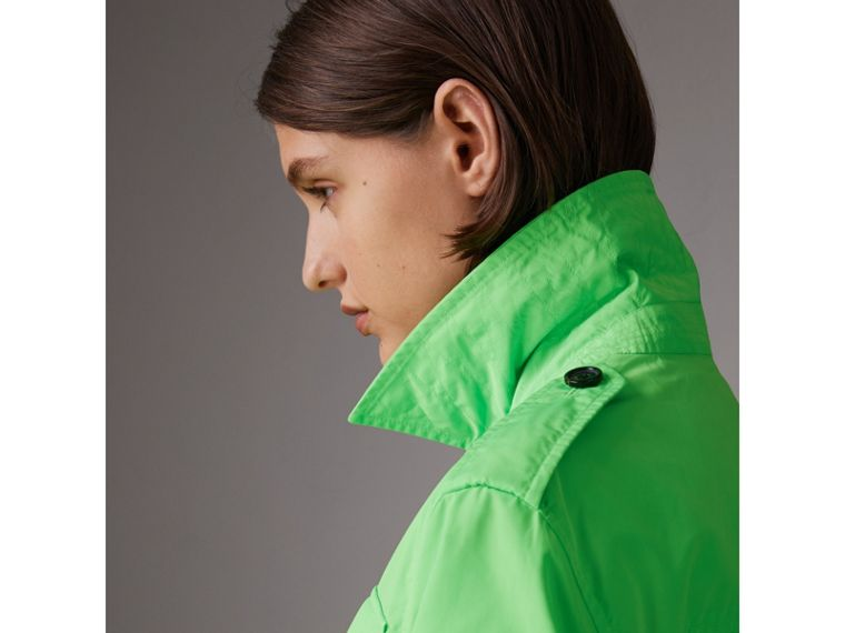 Taffeta Field Jacket in Neon Green - Women | Burberry - cell image 1