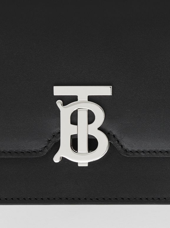 Mini Leather TB Bag in Black - Women | Burberry - cell image 1