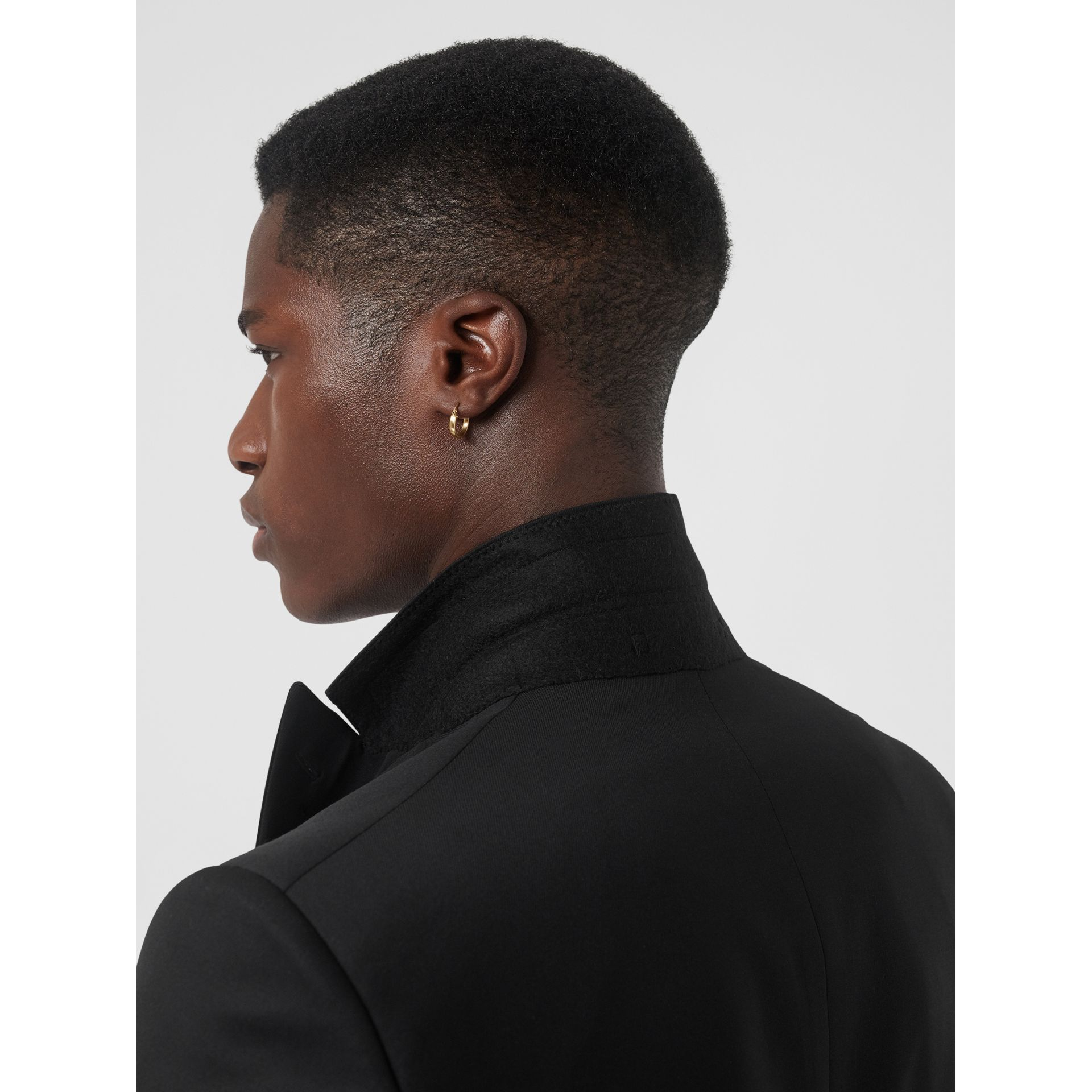 Classic Fit Wool Silk Tuxedo in Black - Men | Burberry - gallery image 5