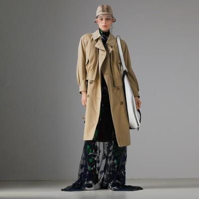 Tropical Gabardine Reconstructed Harrington Trench Coat