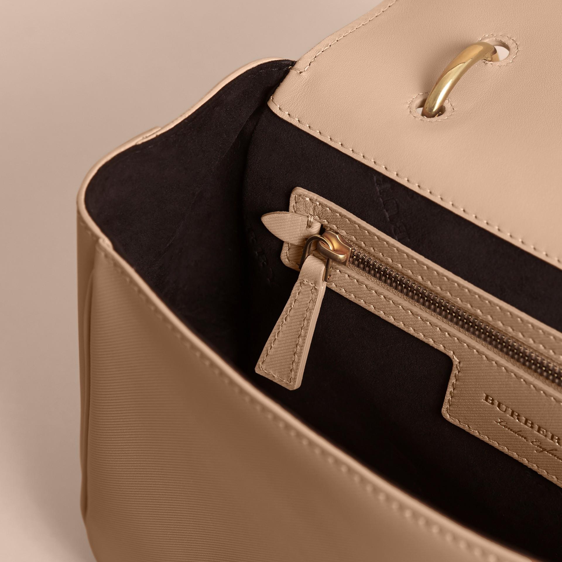 The Medium DK88 Top Handle Bag in Honey - gallery image 4