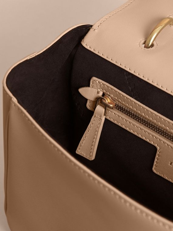 The Medium DK88 Top Handle Bag Honey - cell image 3