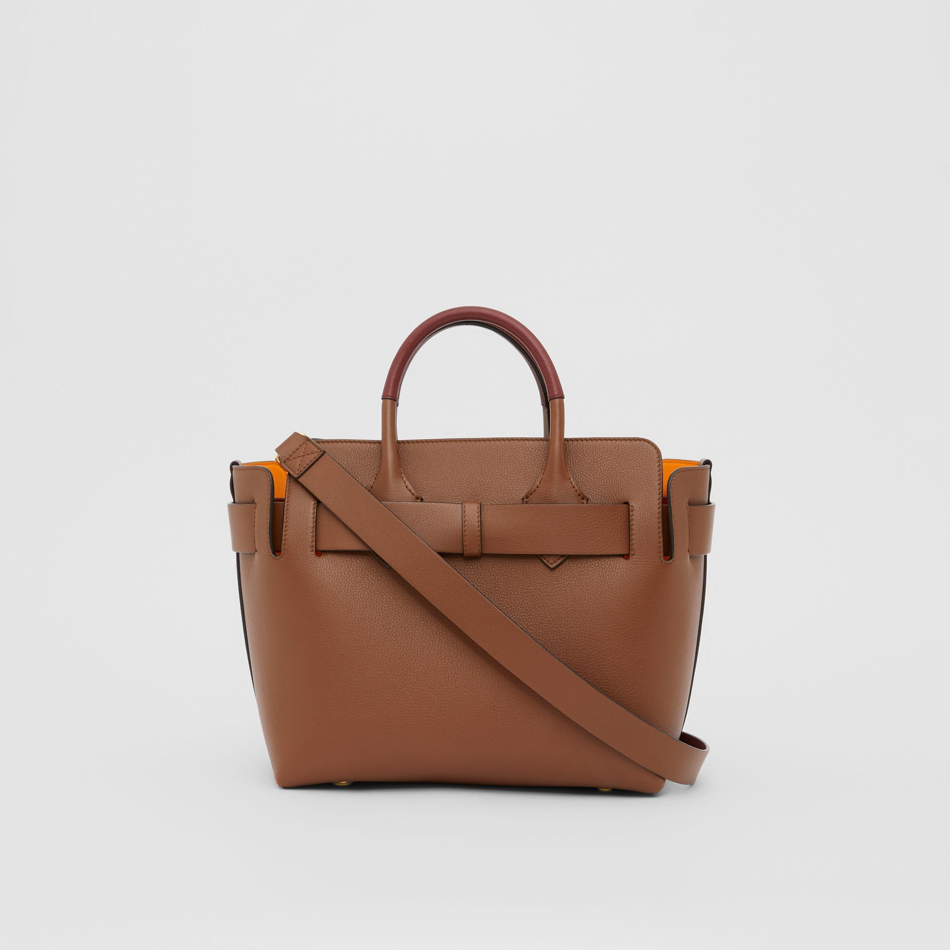 The Small Leather Triple Stud Belt Bag in Tan - Women | Burberry United Kingdom - gallery image 7