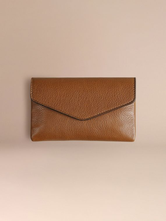 Wooden Domino Set with Grainy Leather Case in Tan | Burberry - cell image 2