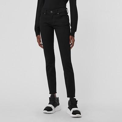 Burberry - Jean skinny taille basse noir intense - 5