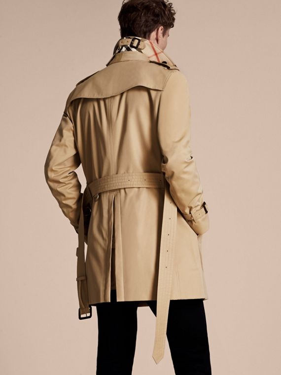 Mel The Chelsea – Trench coat Heritage médio Mel - cell image 2