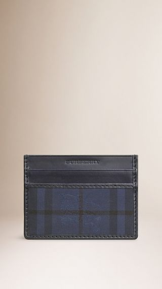 Overdyed Horseferry Check Card Case