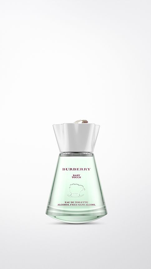 White Burberry Baby Touch Alcohol Free 100ml - Image 1