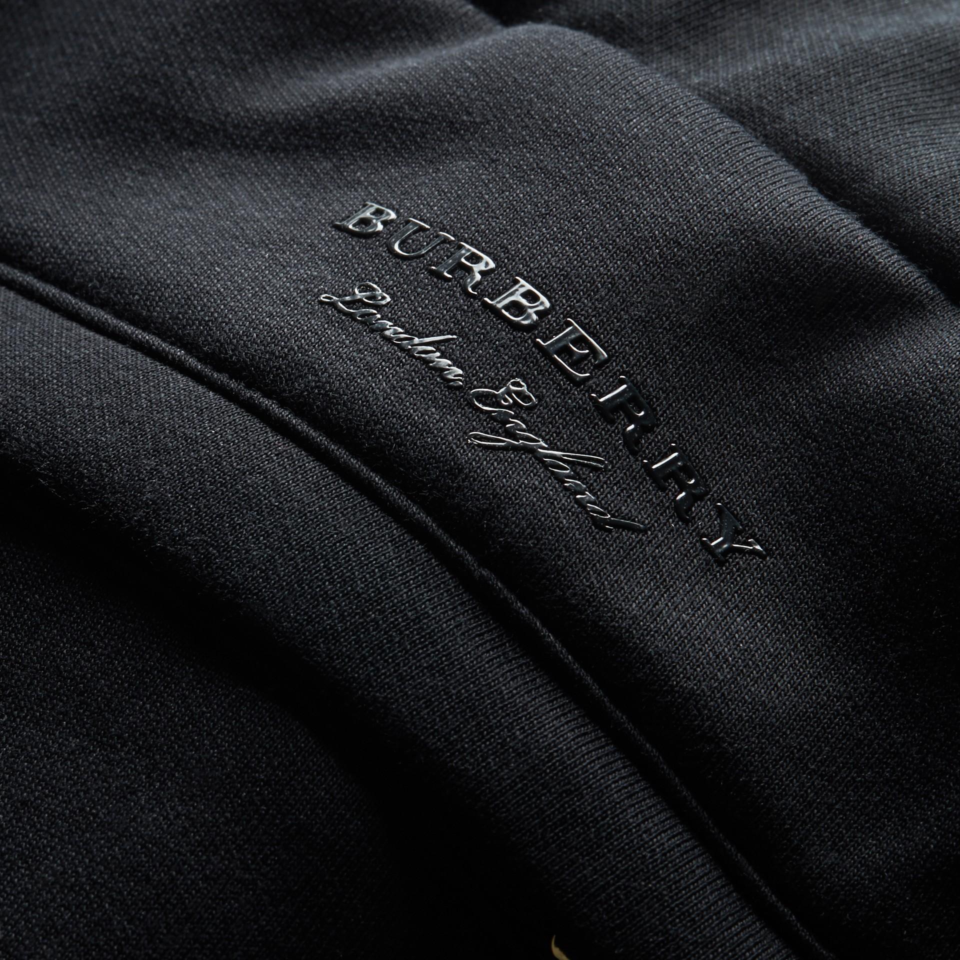 Cotton Blend Knit Sweat Pants - gallery image 2