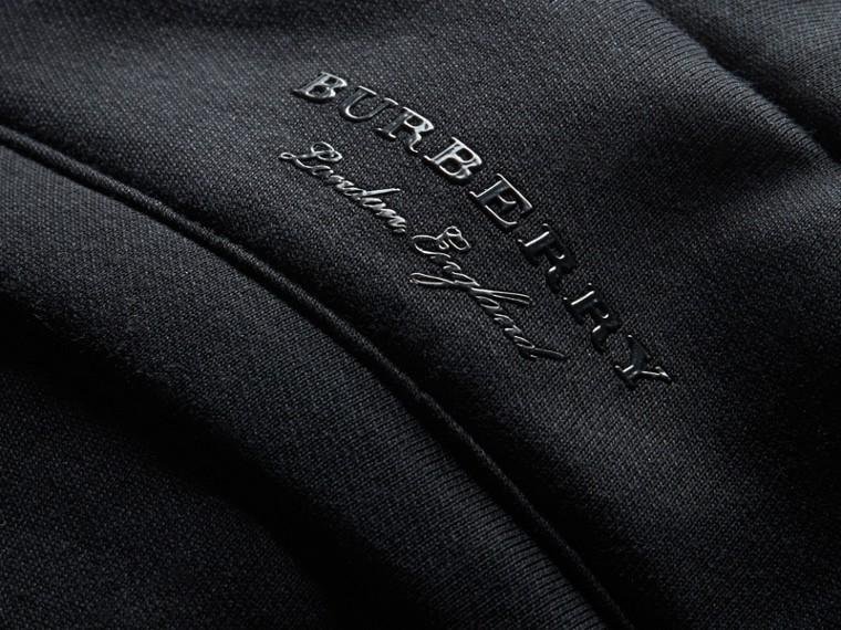 Cotton Blend Knit Sweatpants - cell image 1