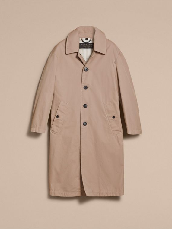 Cappotto unisex in gabardine tropicale - Donna | Burberry - cell image 3