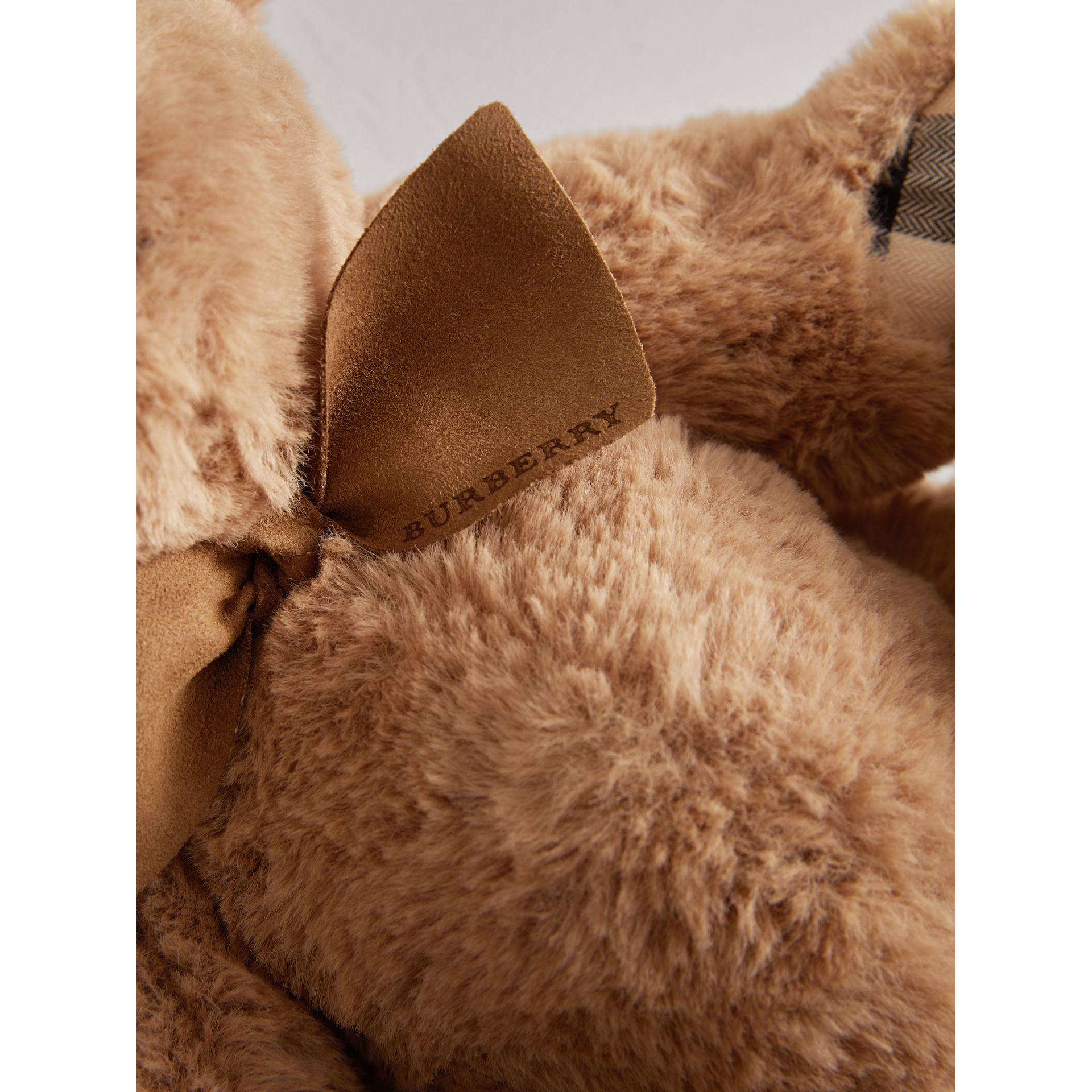 Thomas Baby Bear with Check Detail in Camel - Children | Burberry Singapore - gallery image 1
