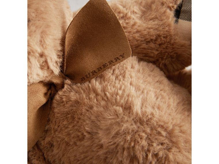 Thomas Baby Bear with Check Detail in Camel - Children | Burberry Singapore - cell image 1