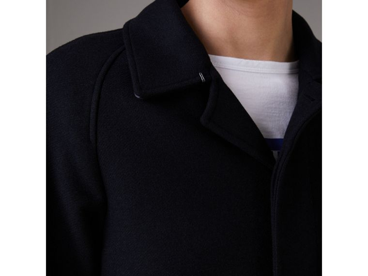 Cappotto car coat in cashmere (Navy) - Uomo | Burberry - cell image 1