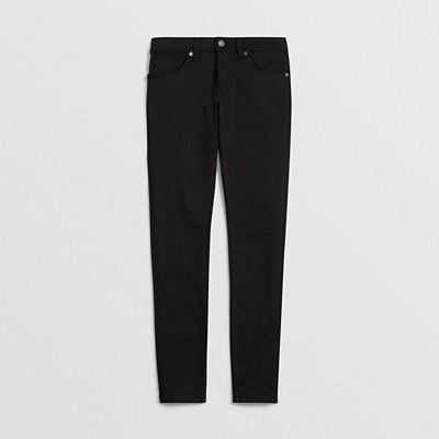 Burberry - Jean skinny taille basse noir intense - 4