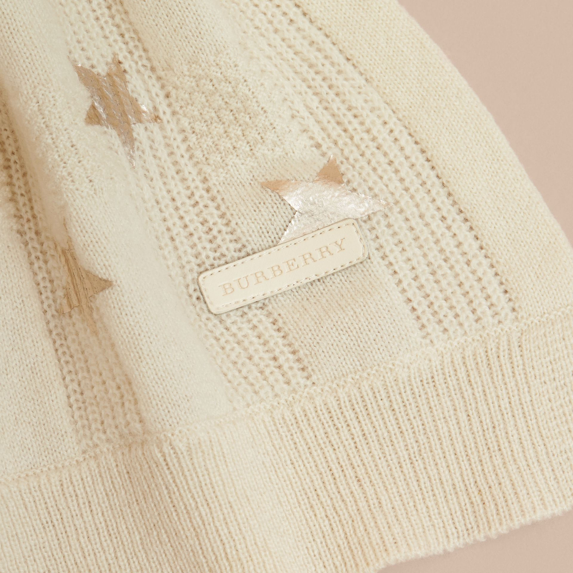 Printed Cashmere Two-piece Gift Set - gallery image 2