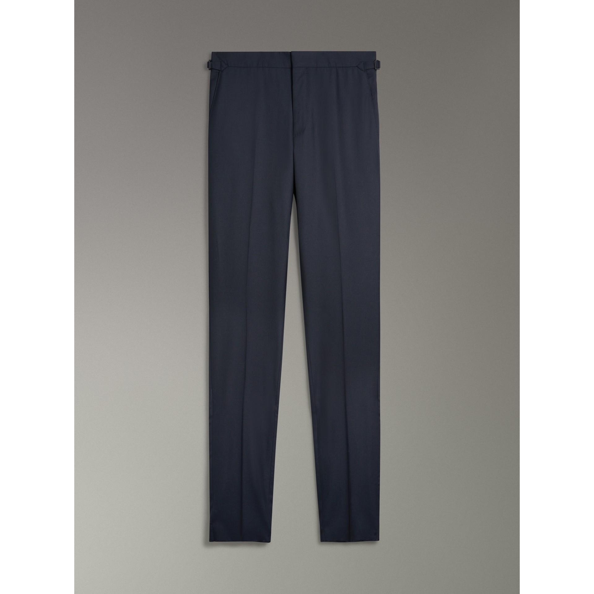 Dreiteiliger Anzug aus Wolle und Seide in schmaler Passform (Marineblau) - Herren | Burberry - Galerie-Bild 9
