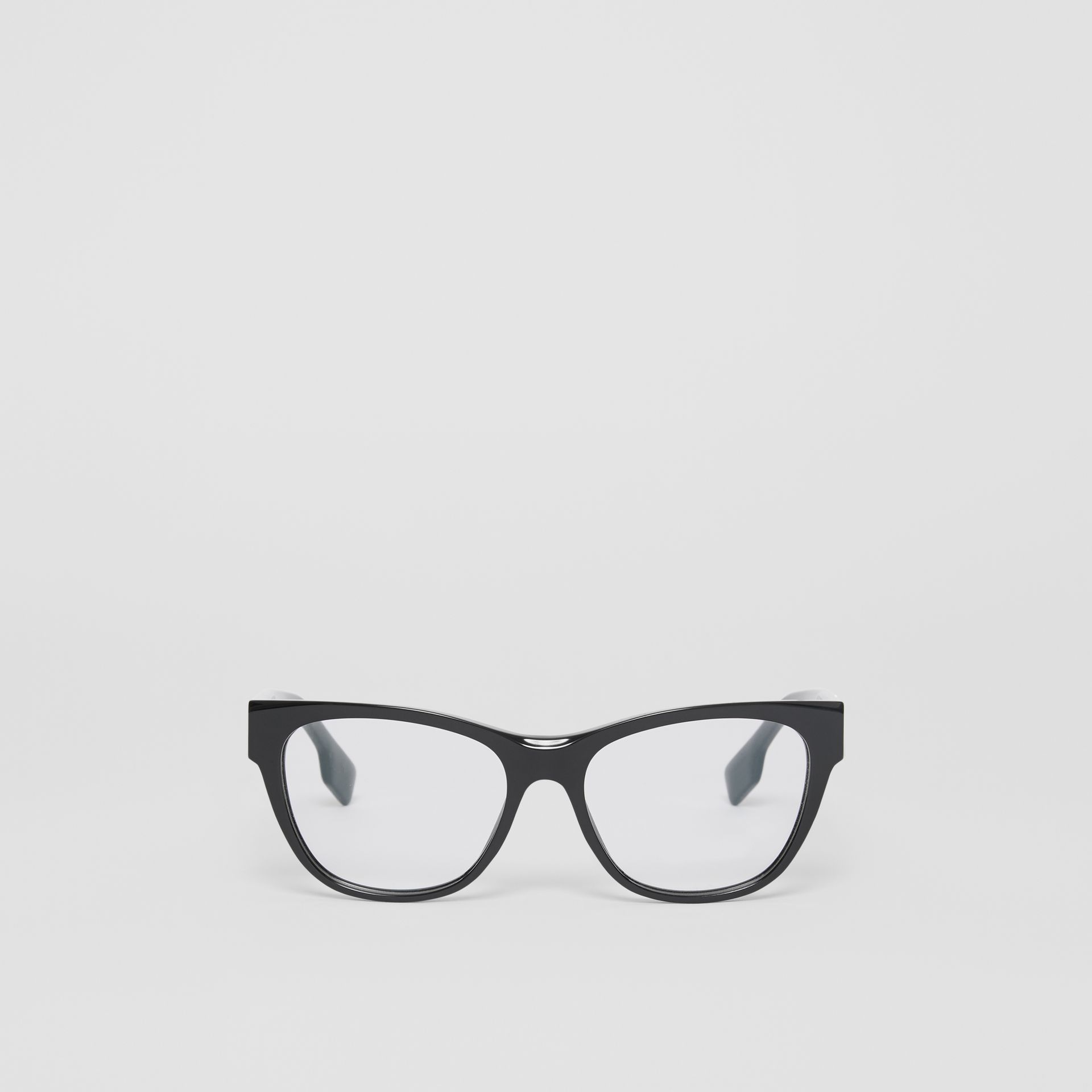 Square Optical Frames in Black - Women | Burberry United Kingdom - gallery image 0