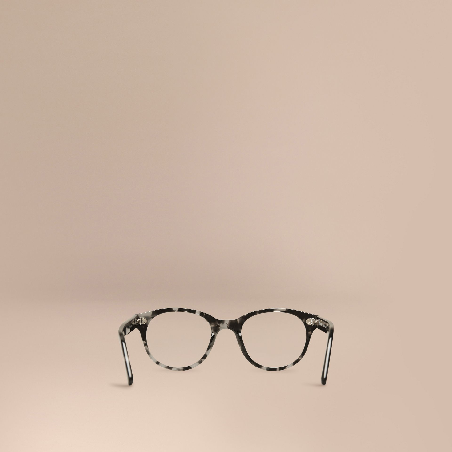 Round Optical Frames Grey - gallery image 3