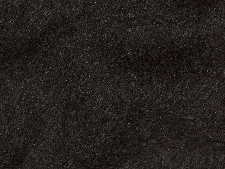 Charcoal The Classic Cashmere Scarf Charcoal - cell image 4