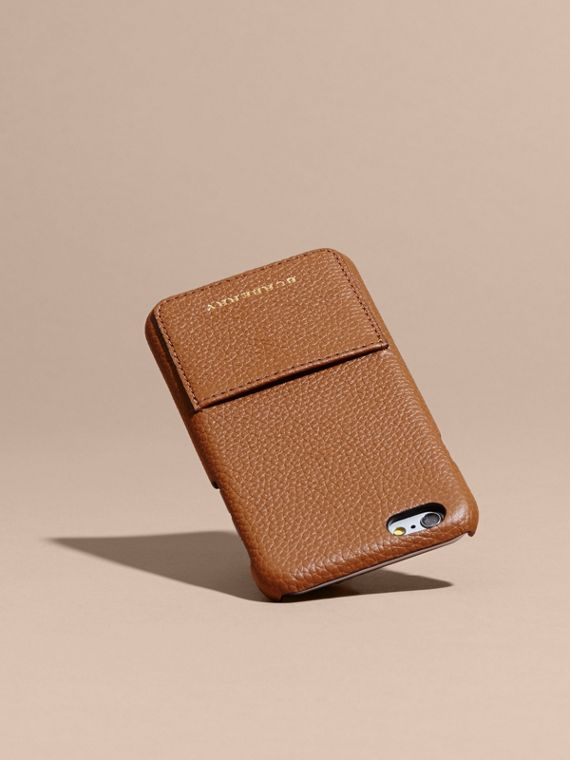 Grainy Leather iPhone 6 Case - Women | Burberry - cell image 3