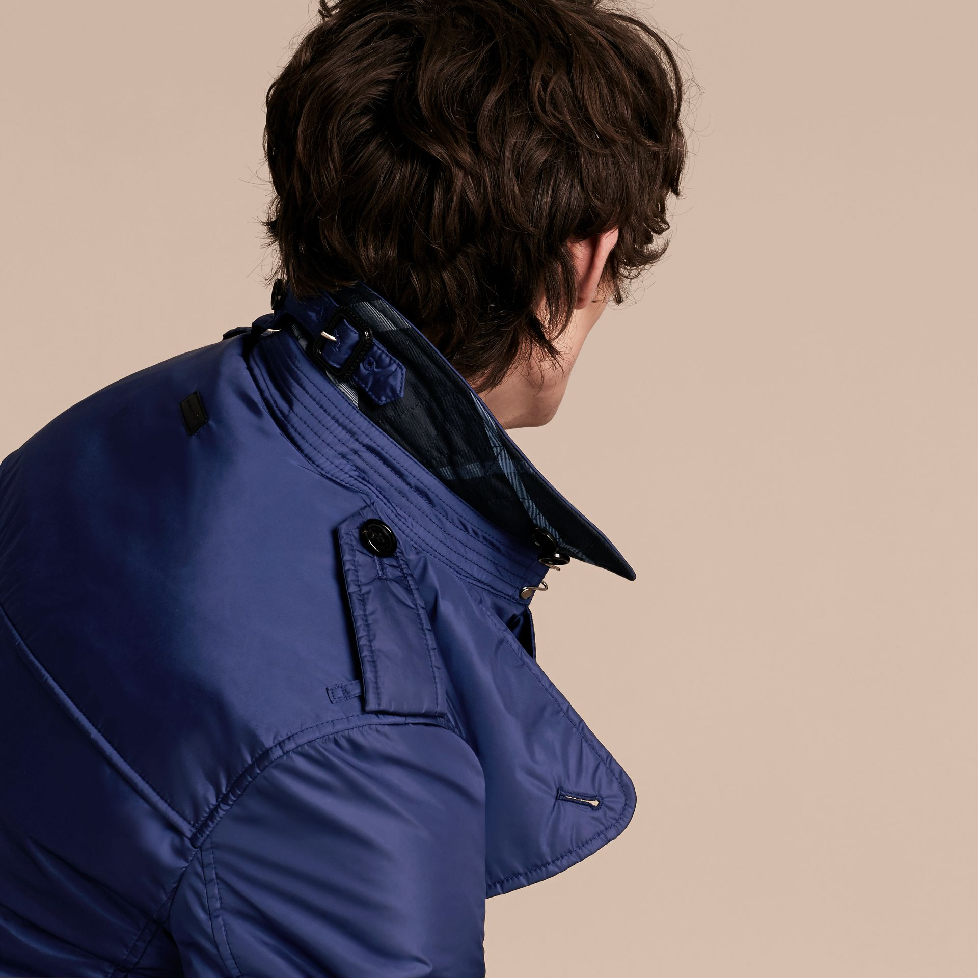 Showerproof Technical Trench Coat with Detachable Warmer - gallery image 5