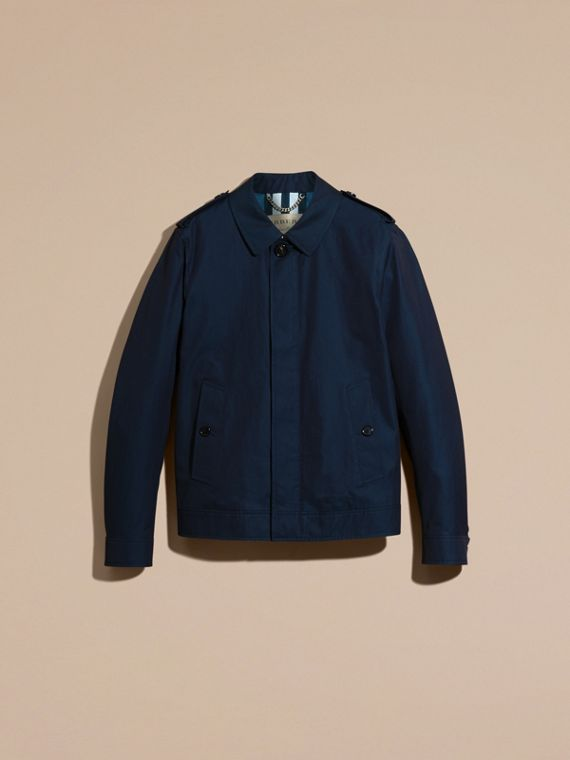 Flint blue Cotton Gabardine Jacket Flint Blue - cell image 3
