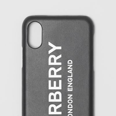 coque iphone x burberry