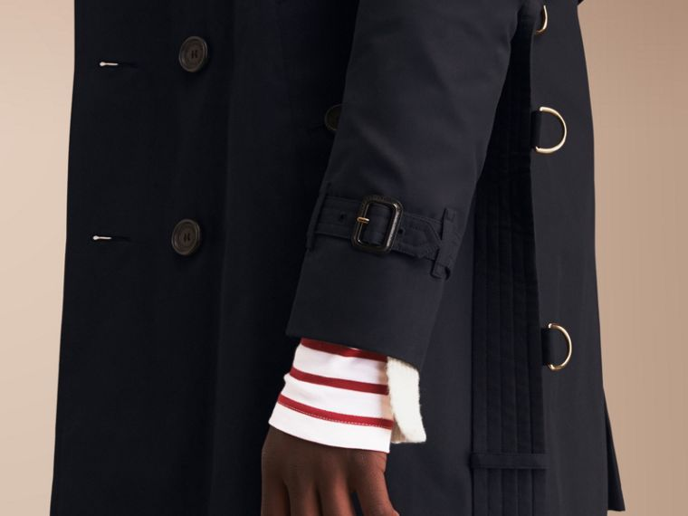 The Kensington – Mid-length Heritage Trench Coat Navy - cell image 4
