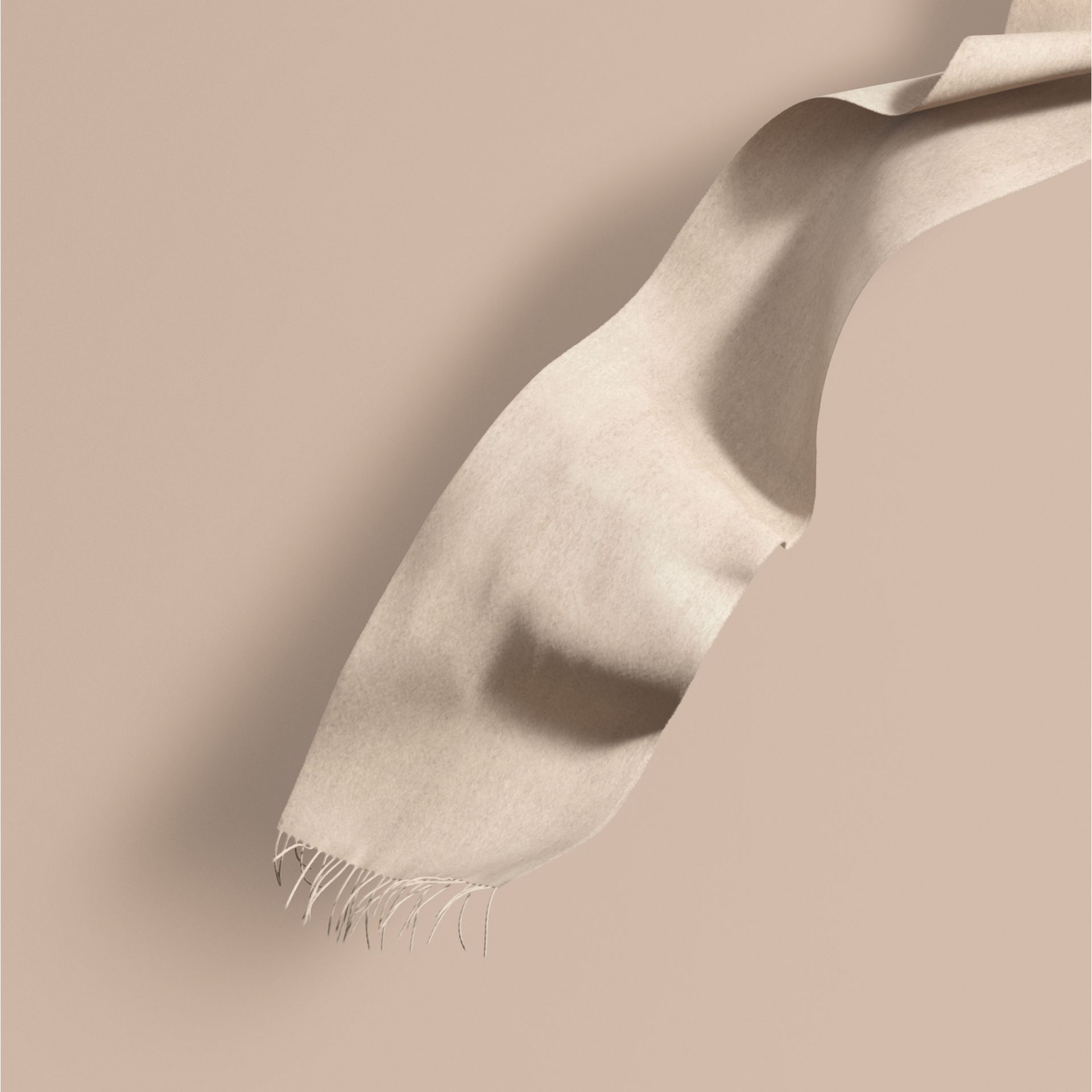 Natural white The Classic Cashmere Scarf Natural White - gallery image 1