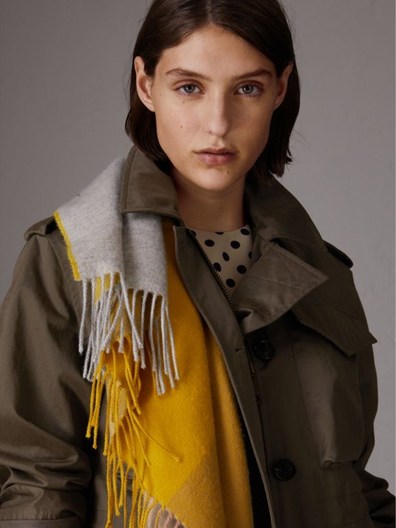 Chaqueta campera impermeable (Oliva Oscuro) - Mujer | Burberry - cell image 1