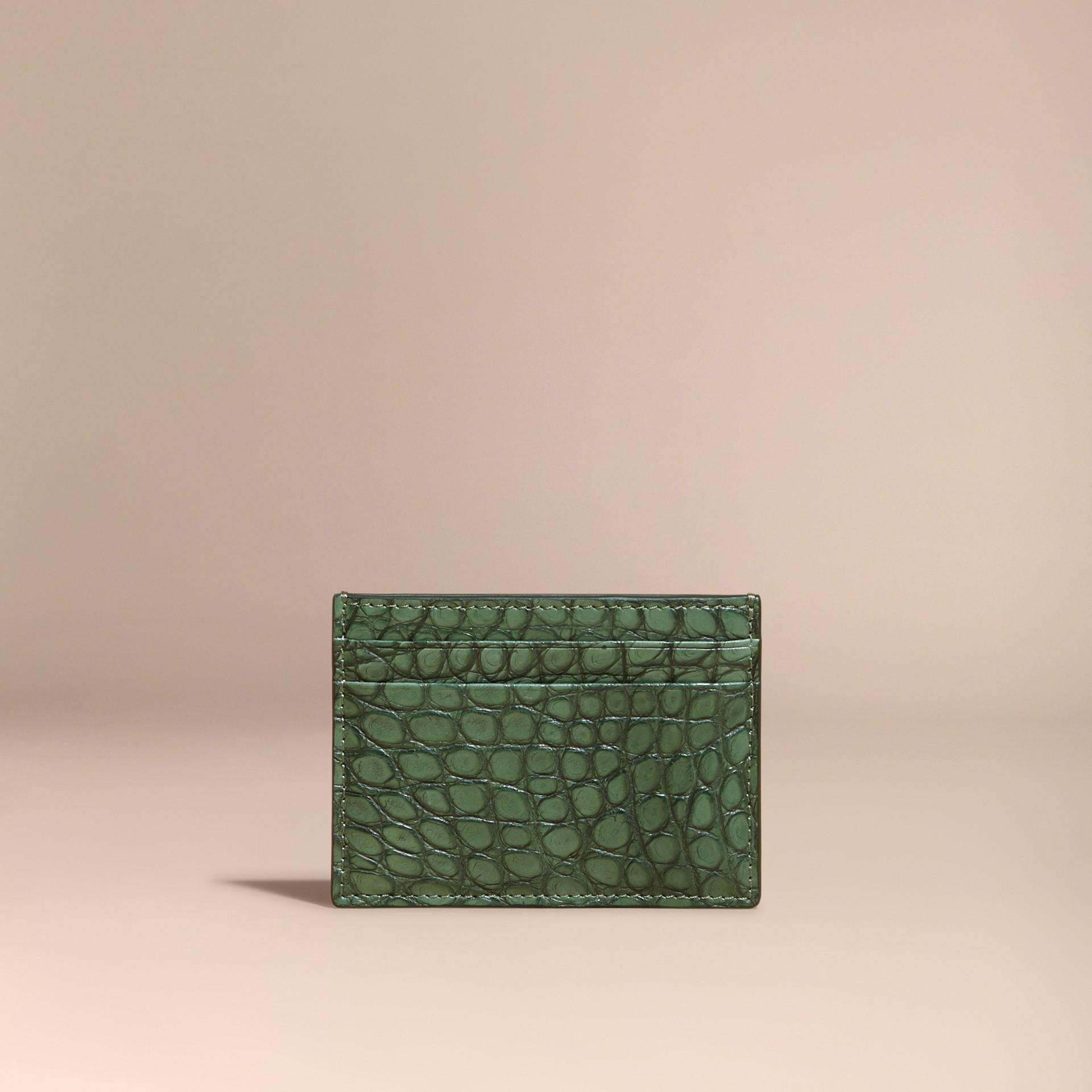 Salvia Tarjetero en piel de caimán - imagen de la galería 6