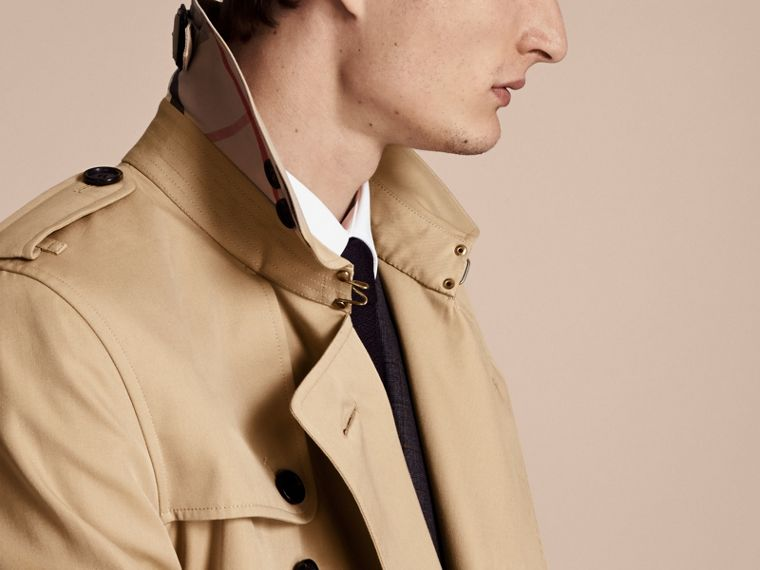 Miel Trench coat Kensington - Trench coat Heritage de longitud media Miel - cell image 4