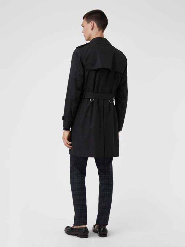 The Kensington Heritage Trench Coat in Black | Burberry United States - cell image 2