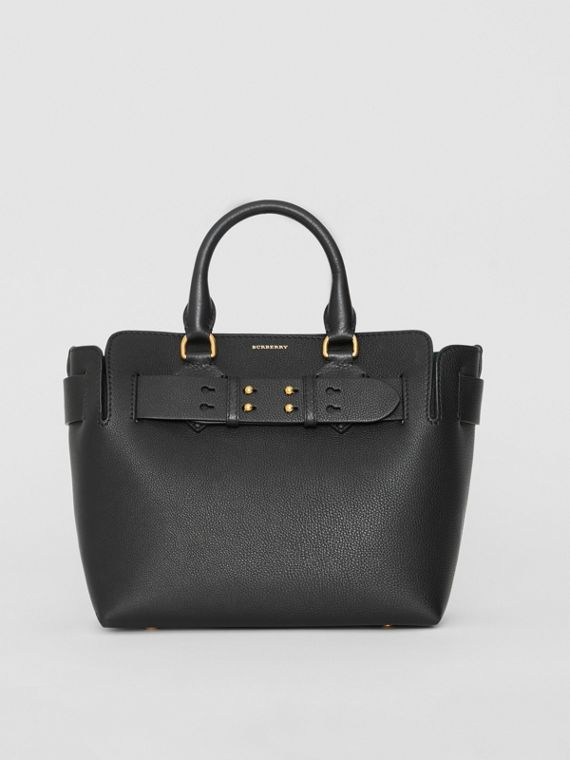 a7d36d87f62e The Small Leather Belt Bag in Black