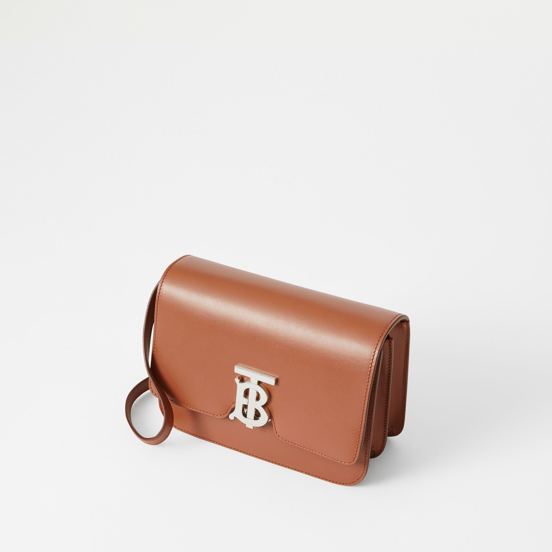 Small Leather TB Bag in Malt Brown - Women | Burberry Canada - gallery image 3