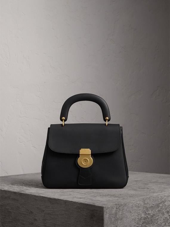 The Medium DK88 Top Handle Bag in Black