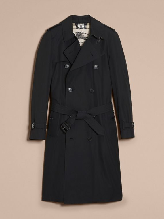 Black The Westminster – Long Heritage Trench Coat Black - cell image 3