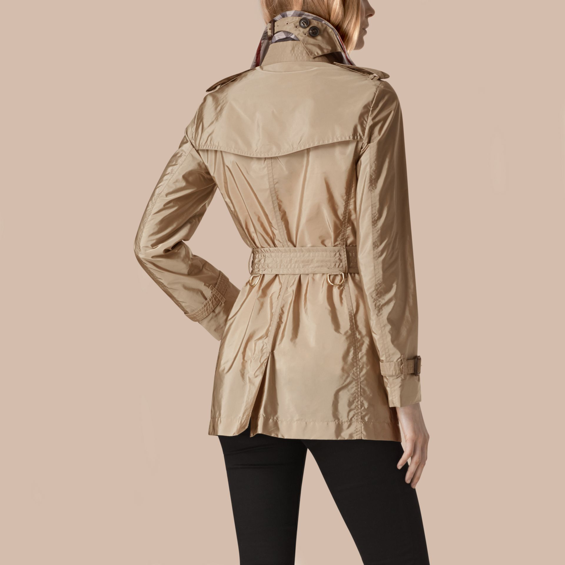 Sisal Lightweight Trench Coat Sisal - gallery image 2