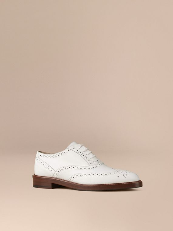 Leather Wingtip Brogues