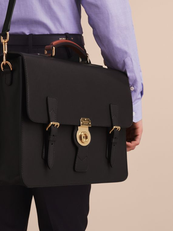 The Medium DK88 Satchel Black - cell image 3