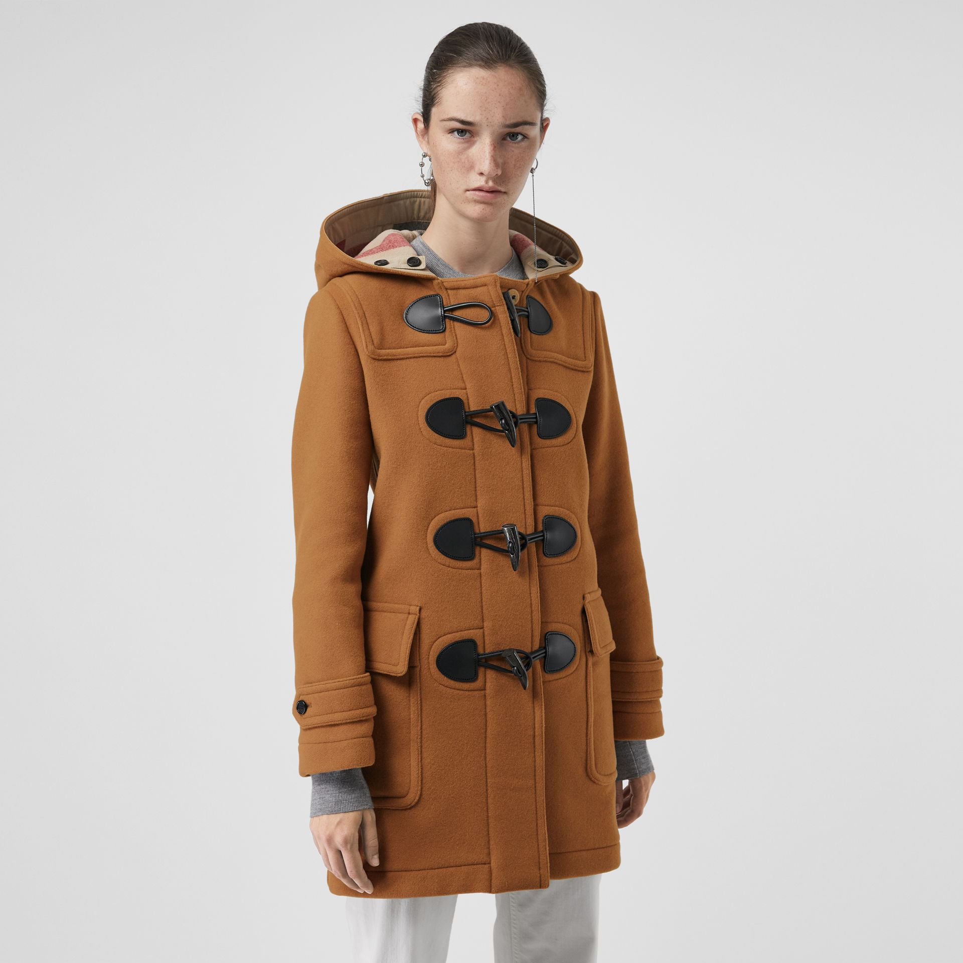 The Mersey Duffle Coat in Mid Camel - Women | Burberry - gallery image 5