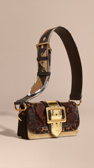 The Patchwork in Snakeskin and Textured Leather