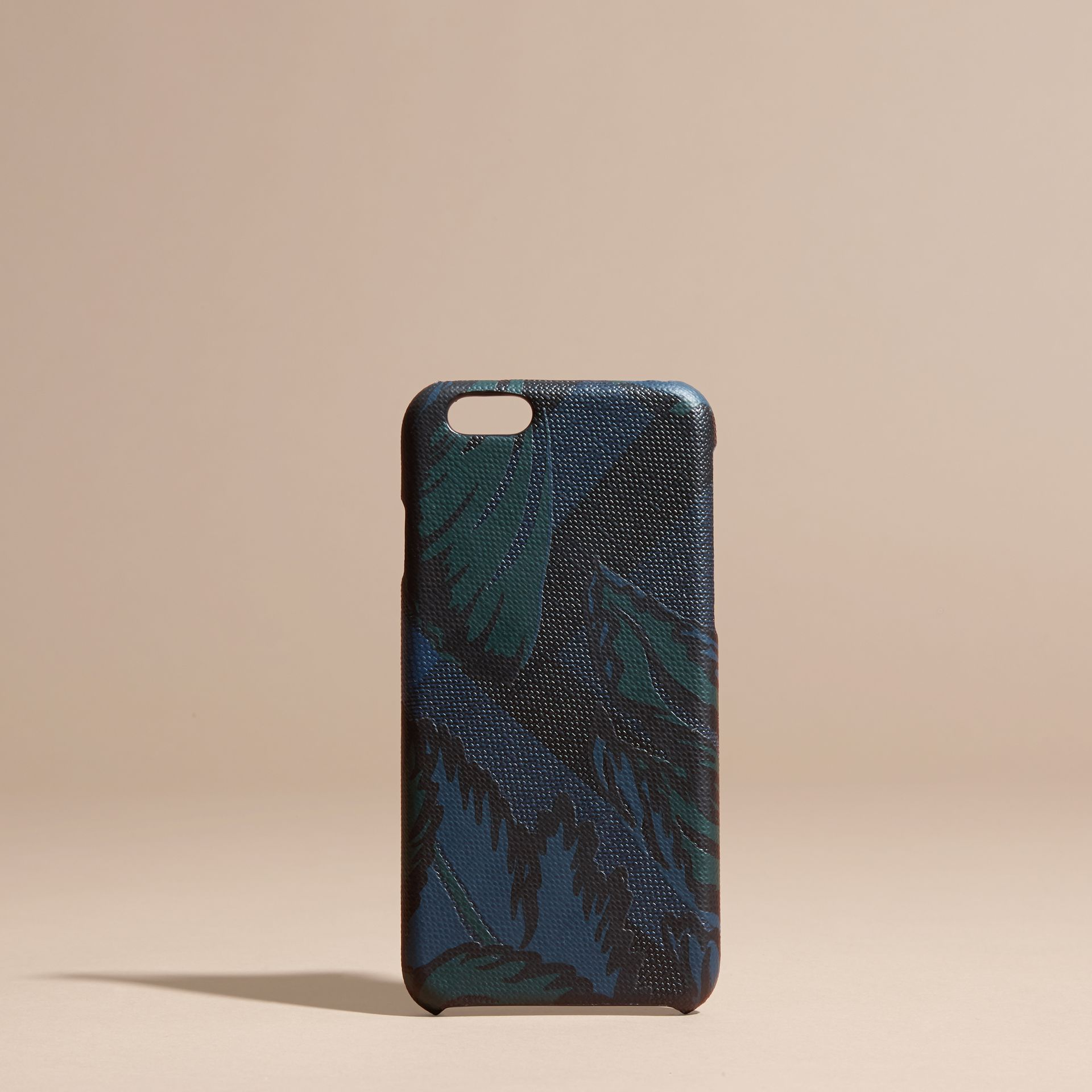 Floral Print London Check iPhone 6 Case - gallery image 5