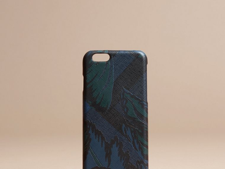 Floral Print London Check iPhone 6 Case - cell image 4