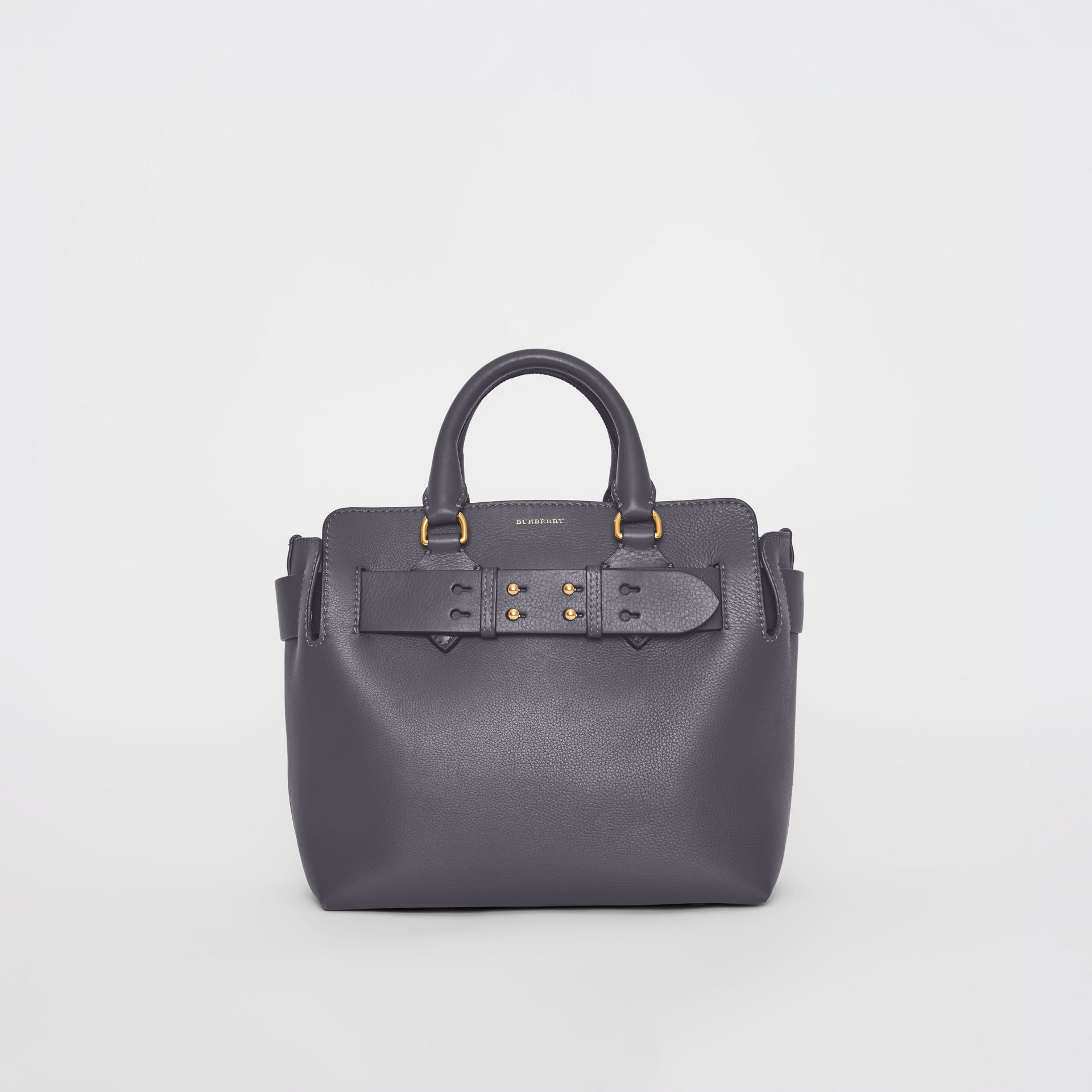 Petit sac The Belt en cuir (Gris Anthracite) - Femme | Burberry - photo de la galerie 0