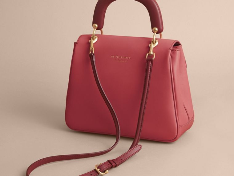 The Medium DK88 Top Handle Bag Blossom Pink - cell image 4