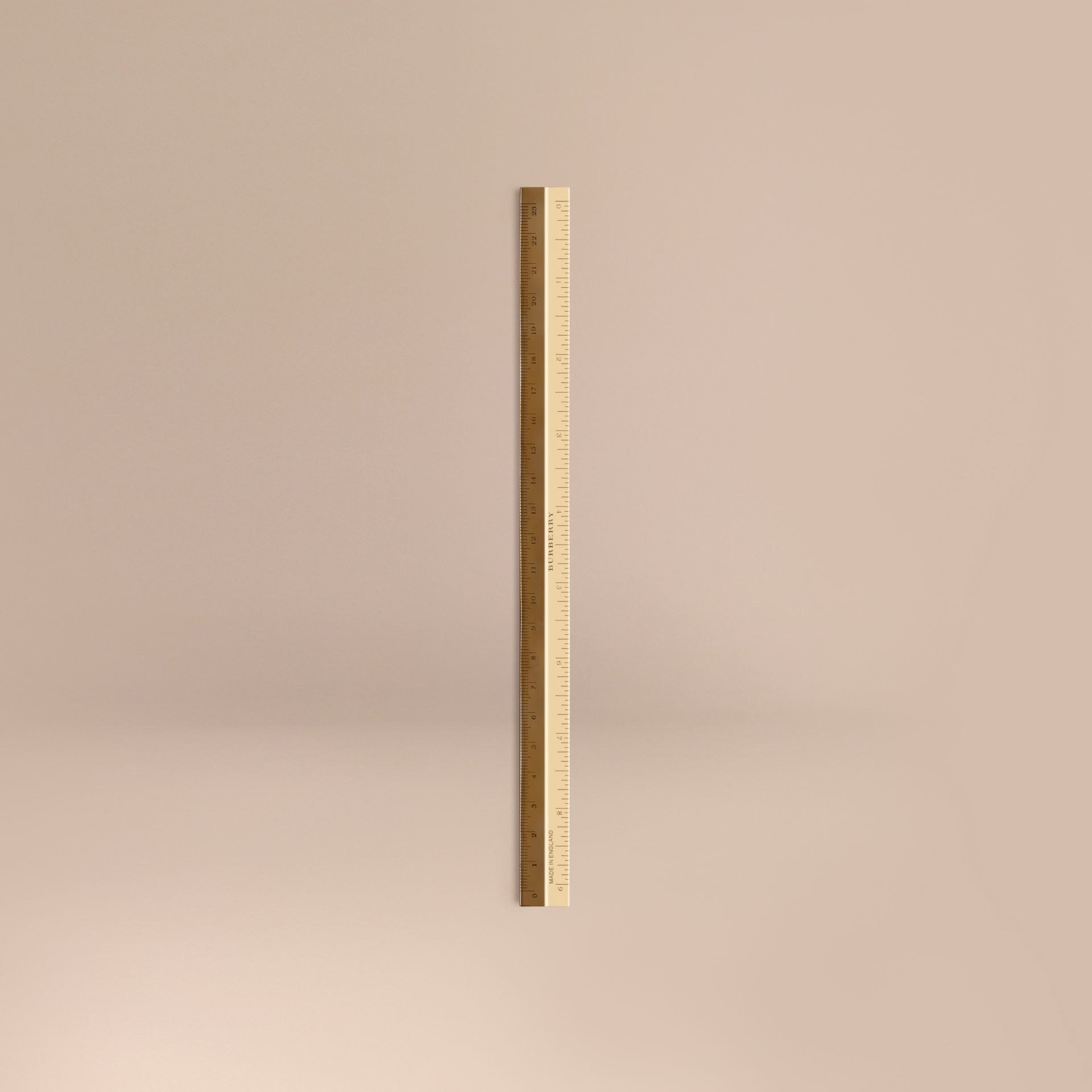 Brass Ruler | Burberry United Kingdom - gallery image 0