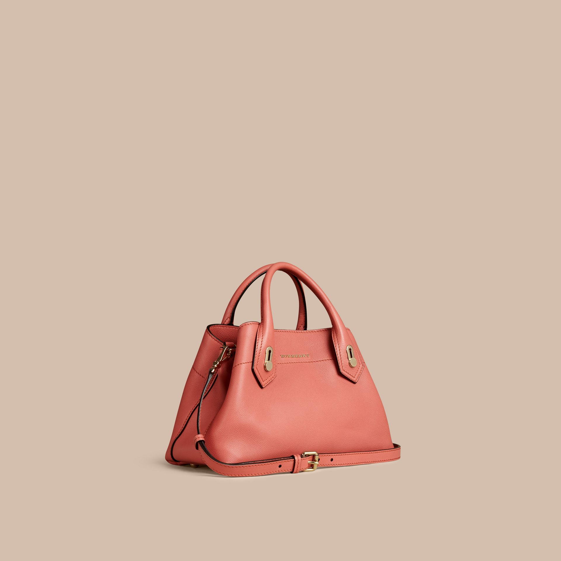 Copper pink The Small Milton in Grainy Leather Copper Pink - gallery image 1